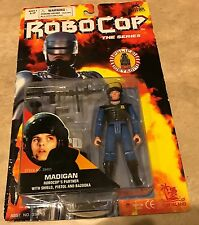 Robo Cop The Series Madigan w/ Shield Pistol & Bazooka Figure NEW Factory Sealed