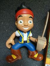 WALT DISNEY JUNIOR TV Jake e la Neverland PIRATA PERSONAGGIO PARLANTE Figura Film