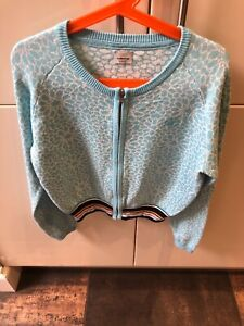 Girls No Added Sugar Cardigan Age 11/12 Blue