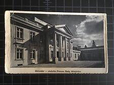Warsaw Warszawa Vintage Postcard Belvedere Palace Photo by Czesław Olszewski