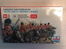 "ESCI ERTL # 217 - 1/72 scale 1815 ""Scots Greys"" British Cavalry - New And Sealed"