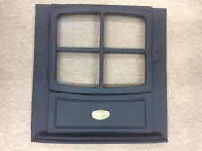 Dimplex Brayford Electric Stove Fire Front Door Panel BFD20R, Black