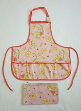 Little Girls Apron with bag