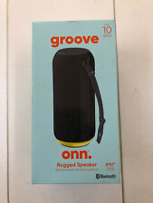 onn. Portable Bluetooth Party Speaker System LED Light Wireless Rechargeable NEW