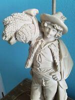 Chapman  Lamp Porcelain Statue