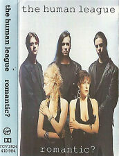 THE HUMAN LEAGUE ROMANTIC? CASSETTE ALBUM Electronic Synth-Pop Virgin 1990