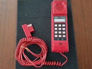 Téléphone Vintage Rouge Marque COMOC Rare, fonctionne