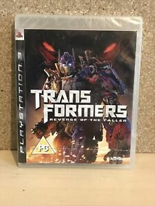 Transformers Revenge of the Fallen PS3 Game NEW SEALED UK PAL Sony Playstation 3