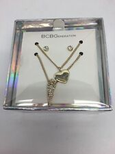BCBGeneration 2 Pendant Necklace And Earring Boxed Set!! Nwt!! Msrp $35.00