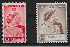 Mint Never Hinged/MNH George VI (1936-1952) Sarawak Stamps