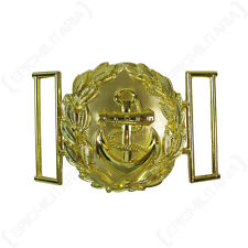 Kriegsmarine Officers Dress Buckle - Repro Naval Military Uniform Solider Anchor