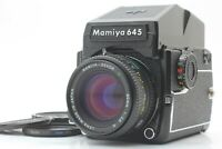 [Exc+4 ] Mamiya M645 1000S Sekor C 80mm f2.8 Lens Prism Finder from JAPAN # 607