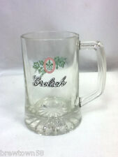 Grolsch beer glass small mug mugs 1 Dutch import imported logo drink tap Hc3