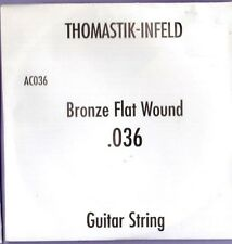 Thomastik AC036 Bronze Flat Wound Single String .036 Gauge