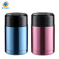 1000ml Insulated cup Vacuum Flasks Thermoses Thermo Bottle lunch thermo for food