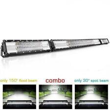 "52INCH 3510W LED WORK LIGHT BAR Spot Flood COMBO Offroad SUV 4WD 52"" Fog Light"