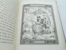 grandmama's Nursery Historias ANTIGUO children's & Rhymes LIBRO 19 century