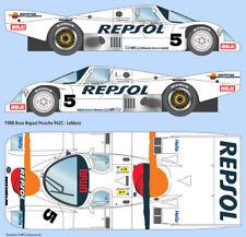 1988 Repsol Porsche 962 1/24 scale water transfer decals, Tamiya/Hasegawa/Revell