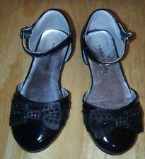 Wonder Kids Girls Black Dress Shoes Size 9