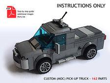 Lego Custom MOC Truck - Pick-Up - PDF Instructions ONLY