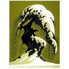 """Eyvind Earle """"Snow Laden"""" Hand-Signed Limited Edition Serigraph COA"""
