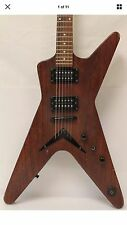 Flying V Shaped Electric Guitar Dean MLX (M) MAGNIFICENT GRAIN BODY.