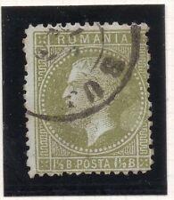 Romania 1870s Classic Carol fine utilizzato 1.5b. belle tonalità 070448