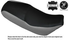 GREY & BLACK CUSTOM FITS LIFAN SKYGO LF 125-30 DUAL LEATHER SEAT COVER