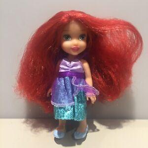 Disney Princess Little Mermaid Ariel Mini Animators Toddler Doll