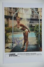 Senta Berger signed 20x30cm cast a Giant Shadow foto autógrafo/AUTOGRAPH IP