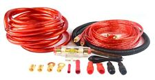4 Gauge Amp Kit Amplifier Install Wiring Complete Wire Red Performance Remote