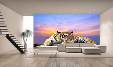 Photo Wallpaper  Tiger  GIANT WALL DECOR PAPER POSTER FOR BEDROOM