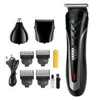 Men Electric Hair Clipper Trimmer Haircut Machine Barber Shaver Kit Rechargeable