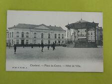 Carte postale CHARLEROI Place du Centre - Hôtel de Ville