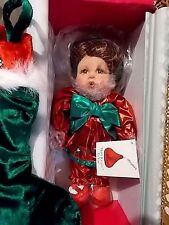 MARIE OSMOND DOLL-MERRY KISSES-Christmas Stocking-Girl-Hershey-NEW IN BOX-A-2