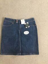 Cherokee Blue Denim Skirt Size UK 12 - NEW