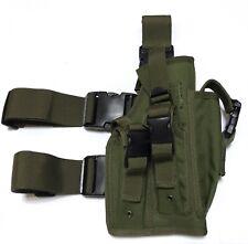 New Airsoft MK23 Desert Eagle USP Tactical Dropleg/Waist Pistol Holster OD