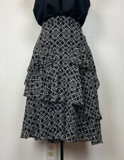 Nwt $ 298 Joie Skirt Blissany Color Caviar Size 0