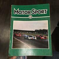 Vintage MOTOR SPORT Magazine March 1970 Auto Racing PORSCHE 917 24 Hours Daytona