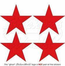 """Soviet Union USSR Russian AirForce WW2 Red Star  Decals Stickers, 2"""" (50mm) x4"""