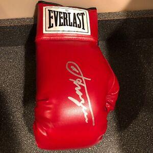 Smokin Joe Frazier Autographed Hand Signed Boxing Glove Everlast HOF