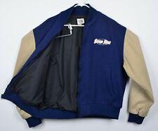 Vtg George Strait Men's Sz XL Wool Blend Tour Wear Sewn Logo Bomber Jacket