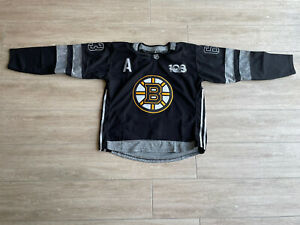 Boston Bruins Jersey Size Large Black & Grey #63 #Marchand #100