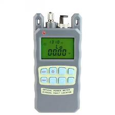 Fiber Optical Power Meter -70 to +10dBm 10mw and 10km Fiber Optic Cable Tester