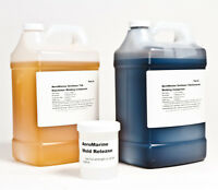 CONCRETE MOLDING AND STAMPING URETHANE RUBBER 75A W/MOLD RELEASE  2 GALLON KIT!