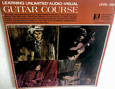 Learning Unlimited Audio Visual Guitar Course Level One Vintage 1971 Beginner