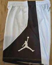 Nike air Jordan UNC Tar Heels HBR  men shorts- SZ Large-  Dri-Fit-new