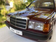 Autoart 1:18 mercedes benz 190 e 2.0 #76135!!! Perfect!!! by Raceface-modelcars