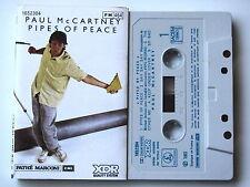 PAUL Mc CARTNEY . PIPES OF PEACE . TAPE . CASSETTE AUDIO . K7