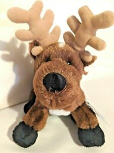 Reindeer Plush Webkinz  HM137 With Sealed Code Ganz